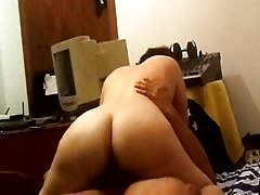 Spanish exgirlfriend 2 riding cock