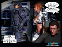3D Comic: Xeno. Episodes 1-2