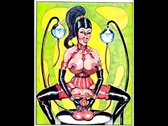 Bizarre Sex BDSM Orgy Comic