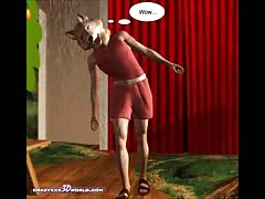 3D Comic: The Little Red Hood
