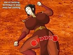 Avatar dominates the princess with big boobies