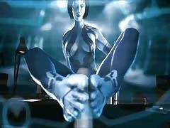 Cortana Sucks and Fucks! (Halo Hentai Compilation)
