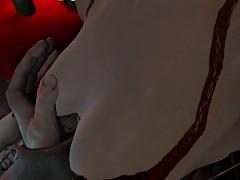 Metro final Light groping orbs