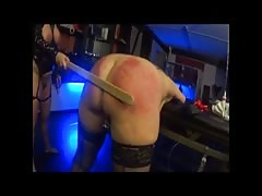 A new toy - a light spanking