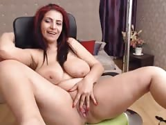 Juicy Mature Romanian Milf KatLust Masturbating