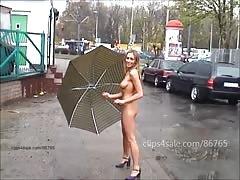 Ewelina - nude in public