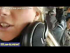 Live sex footage with blonde dj female - part5