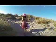 Flashing and public hookup to the beach