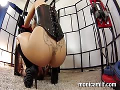 Femdom and squirting in Norway by MonicaMilf