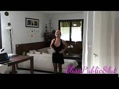 Sex with my tango teacher in front of my servant | ElisaPublicSlut.com