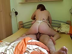 kinky homemade amateur girlfriend riding my cock huge orgasm