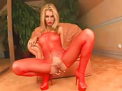 Hungarian Skinny Blonde DP with Two Big Dick...analmente