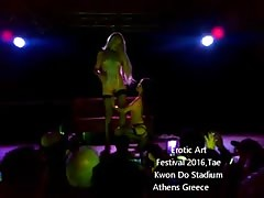 Lola Taylor in Athens Erotic Art Festival 2016