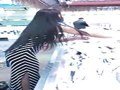 long skirt spectacular dress shopping filipino babe
