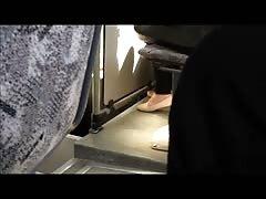 Candid finnish teen feet in flats
