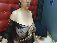 colombiana madura tetona en webcam