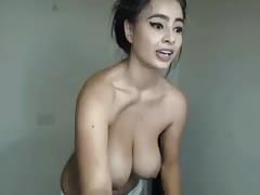 Big Latin Bouncy Oily Tits