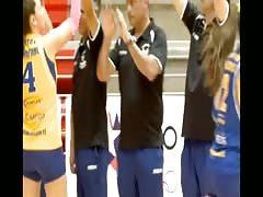 Volleyball girls Boston College vs Cerro Navia 2013