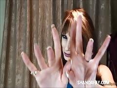 ShandaFay's scorching Canadian handjob!