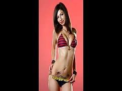 Jade Dagenais Fills real molten bikinis