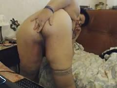 Big Tit Natasha shows Big Ass Oma