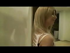 austrian blond masturbates