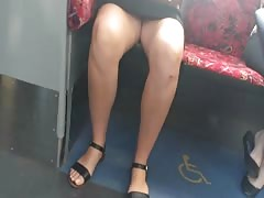 Bare Candid Legs - BCL#236