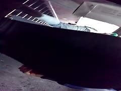 Calza escalera de subte