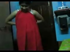 Shy south indian women show her nude body to his boy friend first time