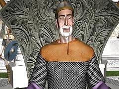 3D Animation: Vikings Orgy