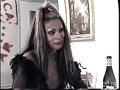 Tranny gets some anal loving