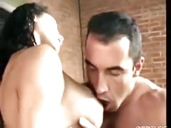 huge-chested ladyboy drilled by brazilian hunk