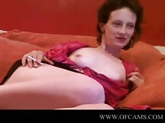 ancient doll  shows on webcam flash high