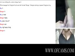 1st Time Flashing On Omegle (BBW Big Boo