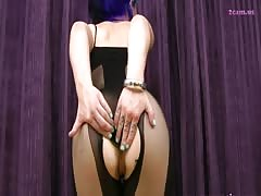 Glass in Proxy Paige ass