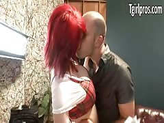 huge-titted tranny  Sarina Valentina analized
