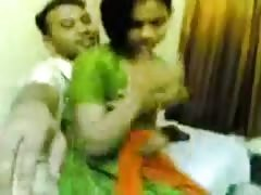Indian Couple having  Sex On New Year Hot video