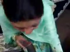 Indian Aunty blowjob