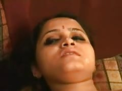 nice Indian damsel creamed Over face n Caught on Cam