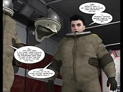 3D Comic: uprising. gig  two