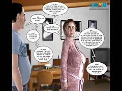 3D Comic: The drop of Innocence 17-18