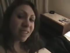 Amateur couple fucking, she cry