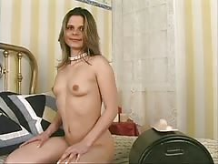 Horny brunette has multiple orgasms on sybian