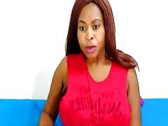 Ebony webcam: Perfectionist