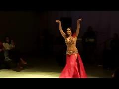 Alla Kushnir remarkable  belly Dance part 116