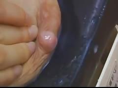 Japanese woman Tits full of Milk - Vibrator help