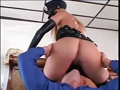 Super-sexy cock bangs a lucky guy