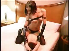 Technosex - Rave girl lesbians GREAT CLIP!