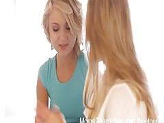 Moms disclose hook-up  - Mom and not her daughter teen bf
