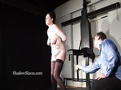 Hellpain amateur whipping and tattooed slaveslut spanking